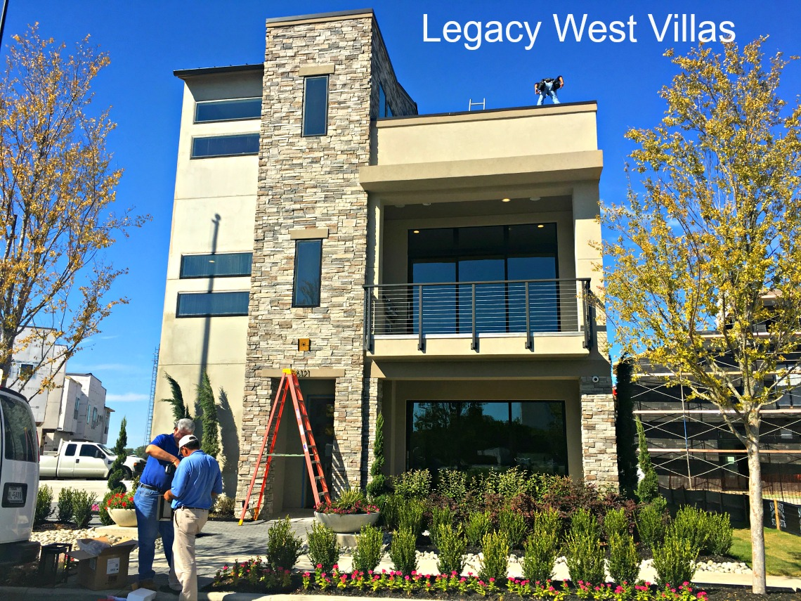 Legacy west villas sneak peek plano homes land for Legacy house
