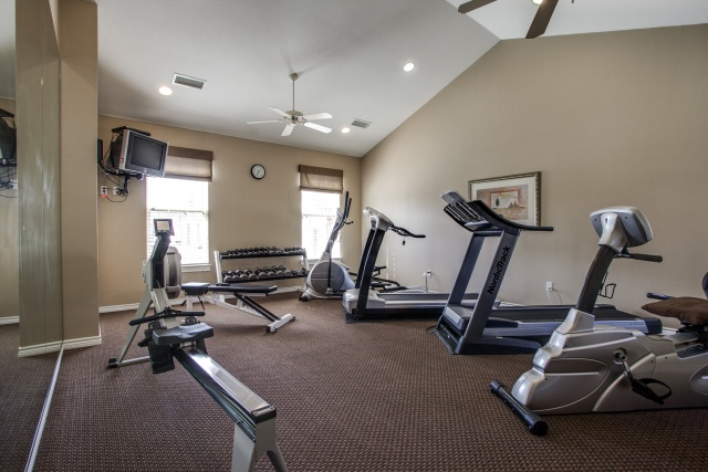 Village at Prestonwwood Plano TX - Fitness Center